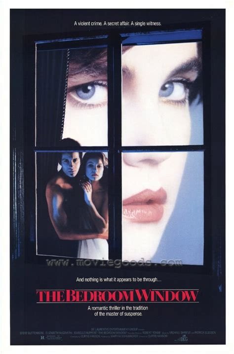 The Bedroom Window | isabelle huppert the bedroom window movie reproduction poster