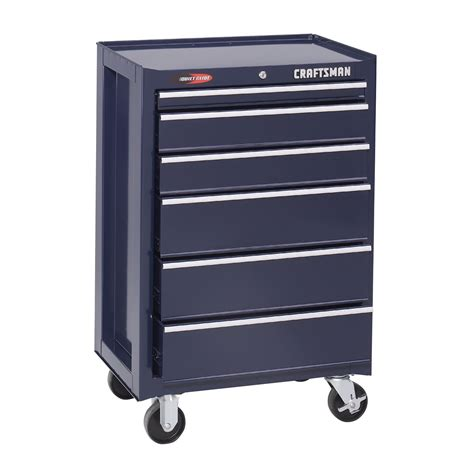 craftsman 6 drawer tool box quiet glide chest craftsman 26 1 2 quot 6 drawer quiet glide roll away tool