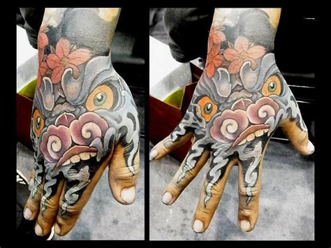 oriental tattoo hand japanese hand demon tattoo by orient soul