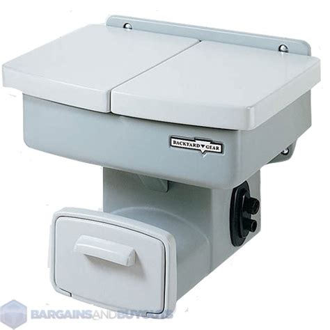 backyard gear outdoor rugged polymer compact garden sink