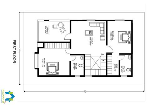 bhk floor plan     plot  square feet