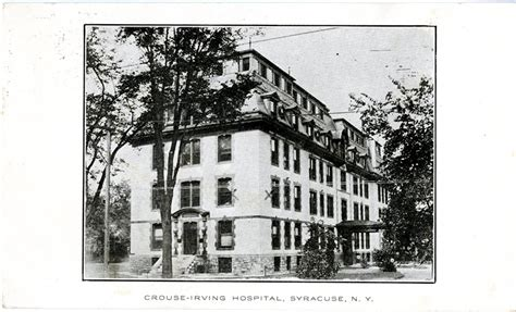 Crouse Irving Hospital Detox by Syracuse New York And The 1918 1919 Influenza Epidemic