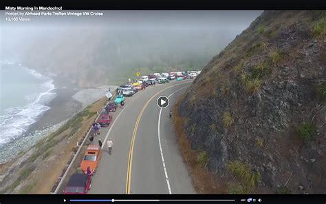 vw bus caravan    border field san diego reader