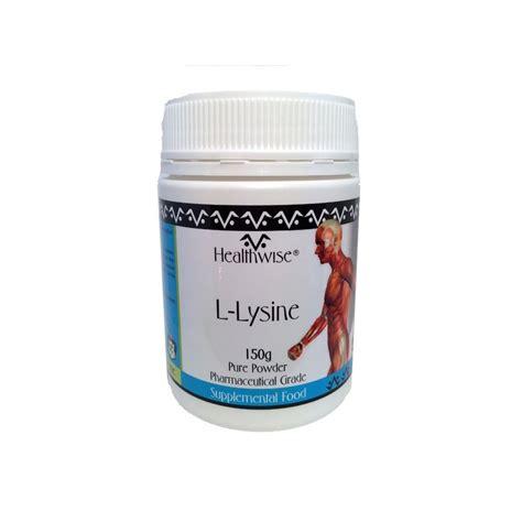 Hcl Detox Program by Healthwise 174 L Lysine Hcl Amino Acid Powder