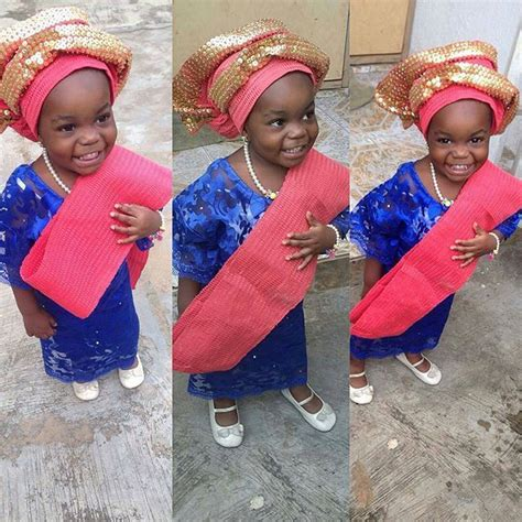 aso ebi for children the cutest lace styles for children jiji ng blog