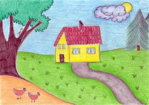 come si disegna una casa la psicologia disegno