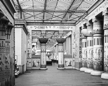 egyptian court  crystal palace  century