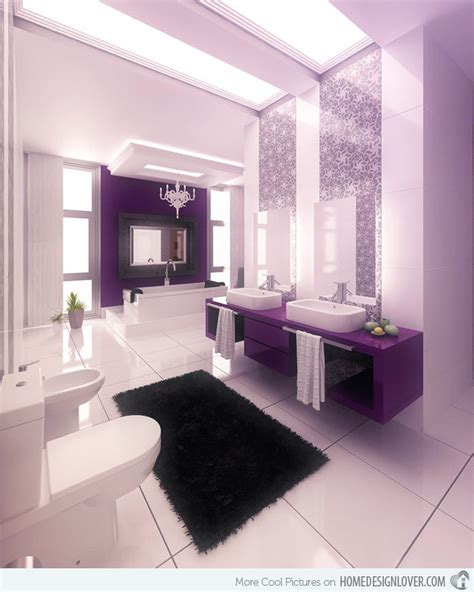 purple bathroom 15 majestically pleasing purple and lavender bathroom