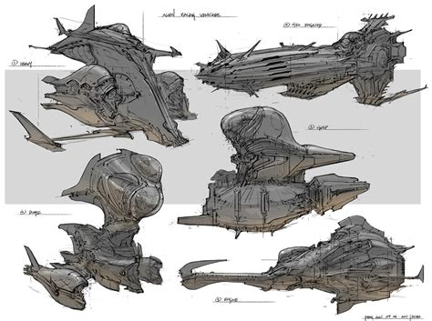 concept design feng zhu concept ships feng zhu spaceship concepts