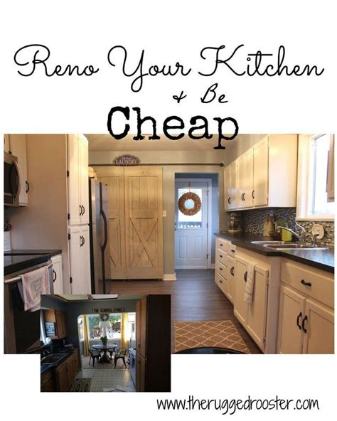 cheap kitchen reno ideas farmhouse kitchen reno for cheap hometalk