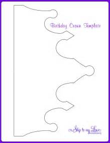 Paper Crown Template For by Paper Crown Template Birthday