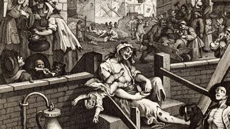 BBC - Culture - Hogarth's London: Gin Lane and Beer Street