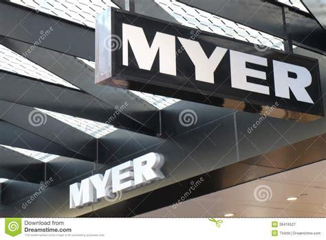meyer australia myer editorial photography image 38416527