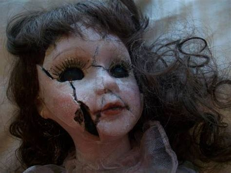 broken porcelain doll quotes haunted dolls tales from a truly creepy chest