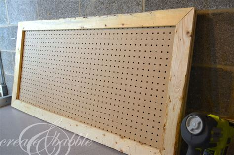 how to paint pegboard build a pegboard frame jenna burger diy pretty pegboard create and babble