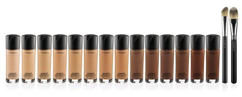 mac foundation colors 4 best images of foundation match chart powder blush