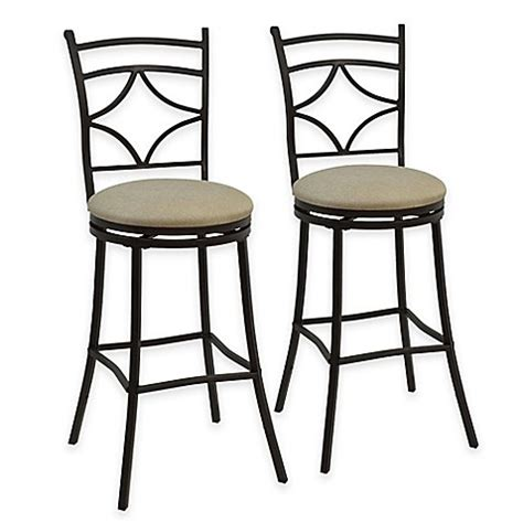 bed bath and beyond stools rahway adjustable bar stools in bronze set of 2 bed
