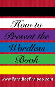 colors of salvation how to the wordless book gospel with free