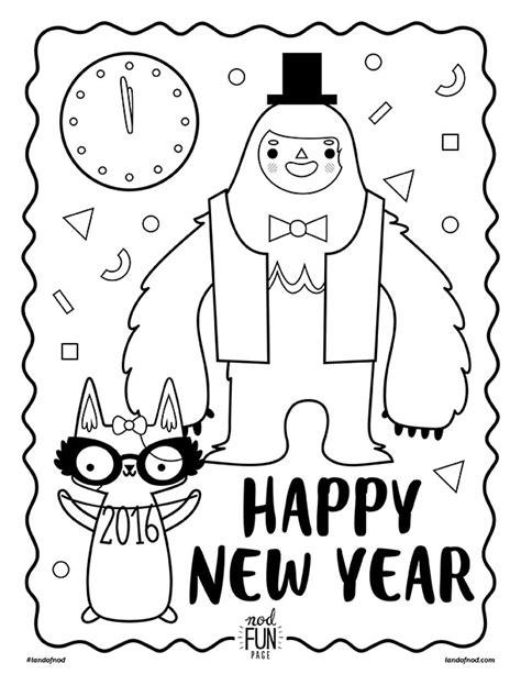 2016 new years eve coloring pages search results for new years crossword puzzle for kids