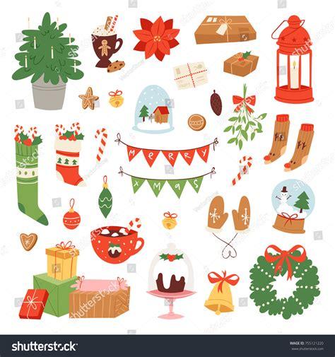 new year symbols vector icons symbols vector new year stock vector