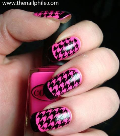 houndstooth pattern nails anti houndstooth houndstooth nails part ii