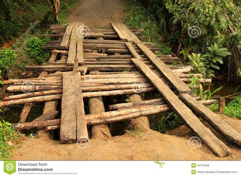 small wooden bridge small wooden bridge royalty free stock photos image 16767648