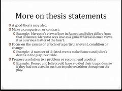 what is a good thesis statement for romeo and juliet image result for what is a good thesis statement for romeo and juliet