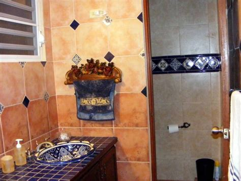 mexican style bathrooms bath tiles favorite tuscan and mexican spaces and decor