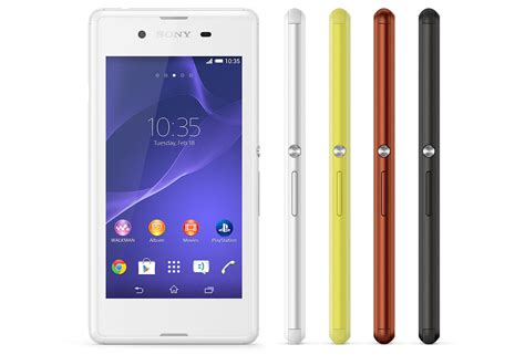 Sony Xperia E3 by The Xperia E3 Is Sony S Most Affordable 4g Smartphone
