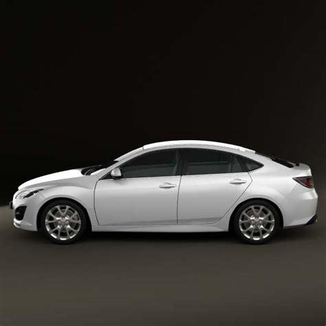 mazda sedan models mazda 6 sedan 2011 3d model hum3d