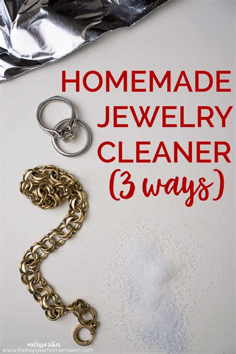 how do you make jewelry cleaner jewelry cleaner 3 easy to make recipes