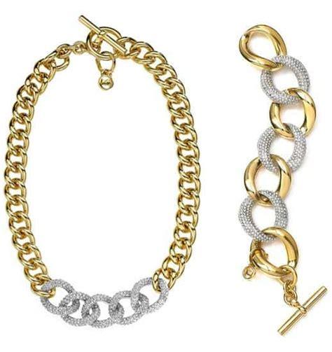 mcadams chain pave necklace