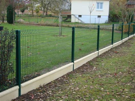 Prix Cloture Jardin by Cloture Metallique Rigide Grillage Jardin Pas Cher