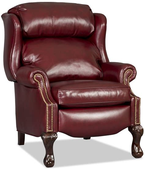bradington young leather recliner reviews bradington young ball claw reclining wing chair with