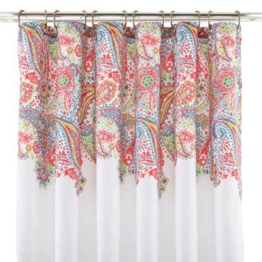 jcpenney bathroom curtains paisley shower curtain jcp bathroom decor pinterest
