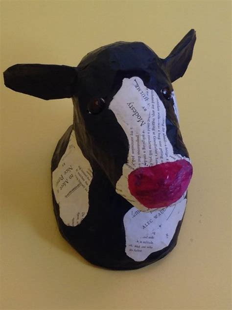 How To Make A Paper Mache Cow - how to make a paper mache cow 28 images paper mache