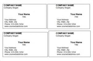 Business Cards Templates Free Word – Free Business Cards Templates For Word   Best Business