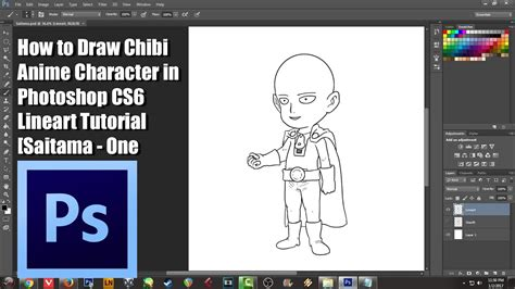 how to insert pattern in photoshop cs6 how to draw chibi anime character in photoshop cs6 lineart