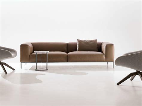 B B Sofa by Frank Leather Sofa By B B Italia Design Antonio Citterio