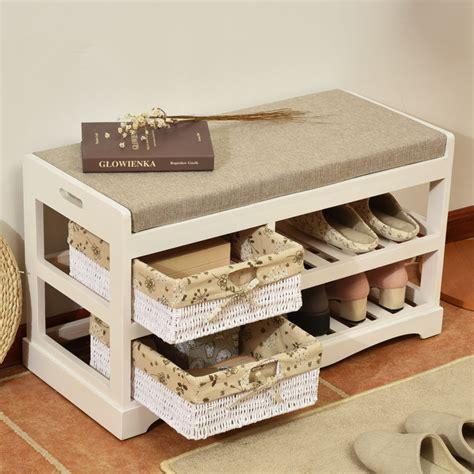 living room shoe storage wooden shoe rack storage organizer hallway bench living