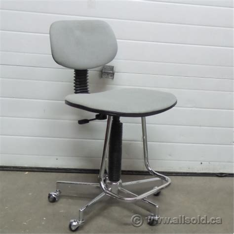 adjustable rolling drafting chair grey height adjustable rolling drafting stool chair