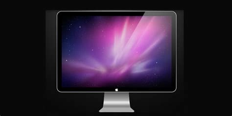 Tv Led Apple computer and tv lcd led display templates psd wwvalue