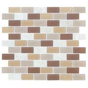 clearance backsplash tile backsplash home depot jeffrey court starlet glass brick 12 in x 12 in wall tile 3