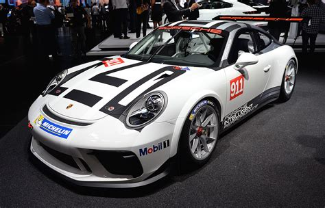 Porsche 911 Cup by Porsche 911 Gt3 Cup Race Car Rolls Out In
