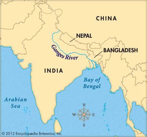 world river map free ganges river encyclopedia children s homework