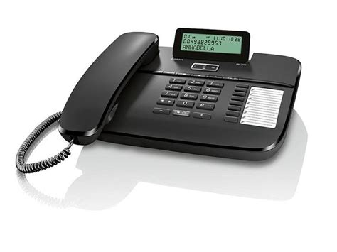 gigaset da710 desk phone with display caller id and