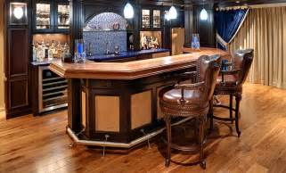 Top Bar Designs by Basement Wood Bar Top Designs