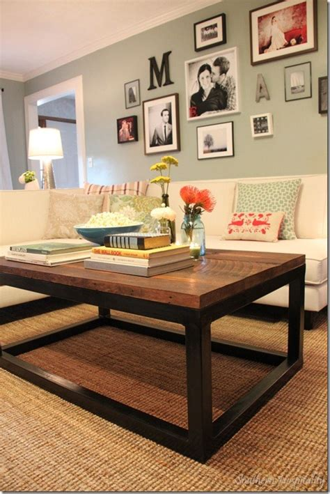rustic country coffee table feature friday the lettered cottage makeover house