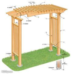 free plans to build this diy trellis clothesline save 1000 images about free arbor plans on pinterest garden