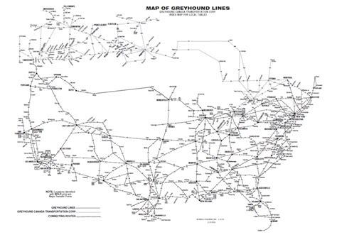 greyhound usa road map greyhound routes search greyhound destinations
